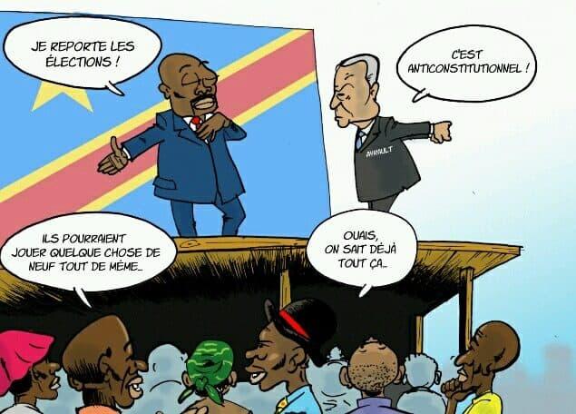 Le président Kabila confirme le report des élections