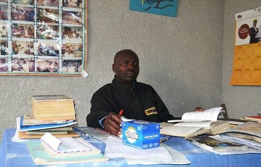 Jean-Luc Bahati, le directeur du centre