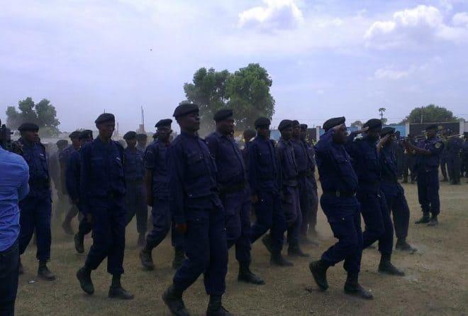 RDC : les larmes d'un policier