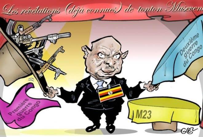 Les secrets de polichinelle de Museveni