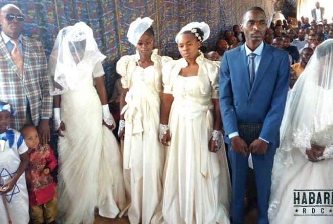 A Lubumbashi, une église adore la polygamie
