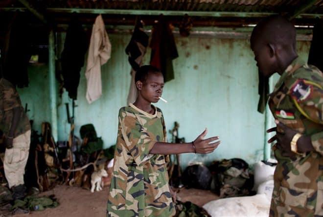 Les enfants dans les milices, ça existe encore dans l'est du Congo !