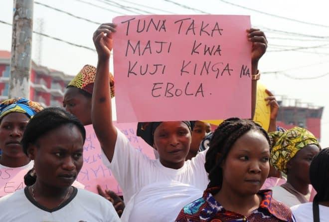 Les problèmes d'adduction d'eau à Goma freinent la lutte contre Ebola