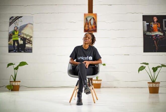 La chanteuse Céline Banza, nouvelle ambassadrice de l'Unicef en RDC